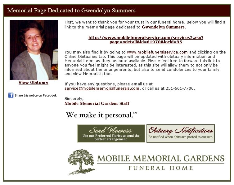 How to write funeral announcement
